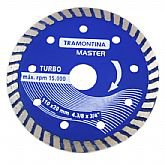 Disco Diamantado Segmentado Turbo 110 x 20mm - TRAMONTINA-42596104