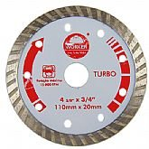 Disco Diamantado Turbo 110 x 20 mm - WORKER-139629
