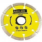 Disco Diamantado Segmentado Corte Seco 110 x 22,23 mm - BLACK JACK-J430