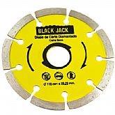Disco Diamantado Segmentado Corte Seco 110 x 22,23 mm - BLACK JACK-J430