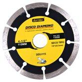 Disco de Corte Seco Diamantado Segmentado 4.1/2Pol. - UYUSTOOLS-DDU115