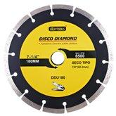 Disco de Corte Seco Diamantado Segmentado 7.1/4Pol. - UYUSTOOLS-DDU180