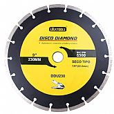 Disco de Corte Seco Diamantado Segmentado 9Pol. - UYUSTOOLS-DDU230