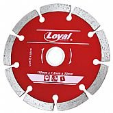 Disco Diamantado Segmentado de 110x20mm  - LOYAL-04103008