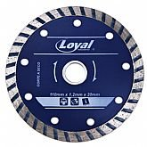 Disco Diamantado Turbo de 110x20mm  - LOYAL-04105009