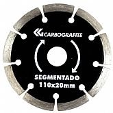 Disco Diamantado Segmentado 110mm - CARBOGRAFITE-012355812