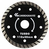 Disco Diamantado Turbo 110mm - CARBOGRAFITE-012355912