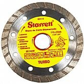Disco de Corte Diamantado Turbo de 110 x 20mm - STARRETT-DDT110