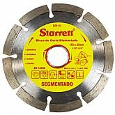 Disco de Corte Diamantado Segmentado 110 x 20 mm  - STARRETT-DDS110