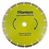 Disco Diamantado Segmentado 9 Pol. - TITANIUM-4846