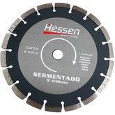 Disco Diamantado Segmentado de 9 Pol. - HESSEN-20941