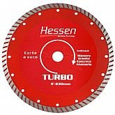 Disco Diamantado 230mm x 10mm Turbo - HESSEN-20942