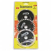 Kit 3 Discos Diamantados Tornado Turbo 4 Pol. - STAMACO-4448