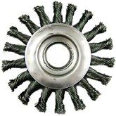 Escova Circular de Aço Tipo Trançada 4. 1/2 Pol. - HESSEN-27098