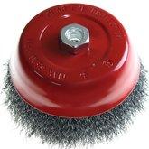 Escova tipo Copo Aço Carbono 150 mm Fio 0,30 - LOYAL-03700901603