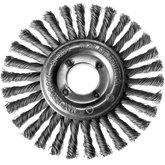 Escova Circular de Fio Trançado 0,5mm 4.1/2 x 1/4 pol. - TRAMONTINA-42603104