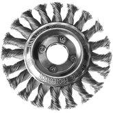 Escova Circular de Fio Entrançado 0,5mm 4.1/2 x 1/2 Pol. - TRAMONTINA-42604104