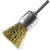 Escova Pincel de Filamentos em Aço Latonado 0,3mm 1x1/4 Pol. - TRAMONTINA-42606125