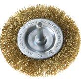 Escova Circular com Filamentos em Aço Latonado  0,3mm 3x1/4 Pol. - TRAMONTINA-42608103