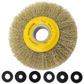 Escova Circular Arame Ondulado de 6x1/2 pol. - TRAMONTINA-42599101