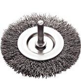 Escova Circular Arame Ondulado 2x1/4 Pol. com Fio de 0,3mm - TRAMONTINA-42607102