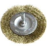 Escova de Aço para Furadeira 75 mm com Encaixe 6 mm - RAZI-EA06013