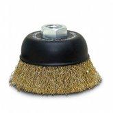 Escova de Aço Tipo Copo Ondulada 3 Pol. - CARBOGRAFITE-012327012