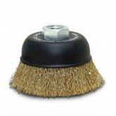 Escova de Aço Tipo Copo Ondulada 4 Pol. - CARBOGRAFITE-012327112