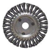 Escova Circular Trançada Aço Carbono 6 Pol. - CARBOGRAFITE-012327512