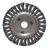 Escova Circular Trançada Aço Inox 4.1/2 Pol. - CARBOGRAFITE-012327612