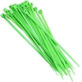 Abraçadeira em Nylon 2,5 x 100 mm Verde com 30 Unidades - TRAMONTINA-57533109