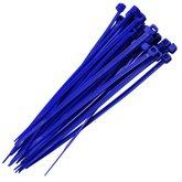 Abraçadeira em Nylon Azul 2,5 x 100 mm com 30 Unidades - TRAMONTINA-57535109