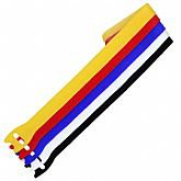 Fita para Agrupamento Multicolor 12mm x 25cm - 5 Unidades - BEMFIXA-5144