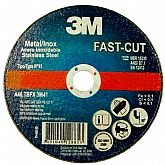 Disco de Corte Fino Fast-Cut 180mm para Aços Carbono e Inox - 3M-HB004008833