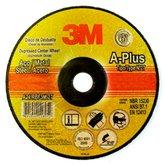 Disco de Desbaste A-Plus 115mm para Aço Carbono e Metais Ferrosos - 3M-HC000580882