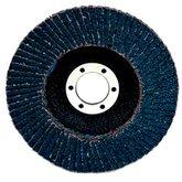 Disco Flap P80 de 115 x 22,2mm Respaldo de Plástico Reto - 3M-HC000620019