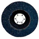 Disco Flap 564D P120 178 x 22,2mm com Respaldo de Plástico Reto - 3M-HC000620084
