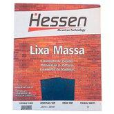 Lixa Massa 230 x 280mm Grão 50 com 50 Folhas - HESSEN-28355