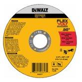 Disco Abrasivo de Corte  Flexvolt 4-1/2 X .045 X 7/8 com 5 Peças - DEWALT-DWAFV845045B5