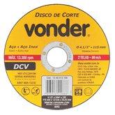Disco de Corte Fino G 46 4.1/2 Pol. - VONDER-1240412100