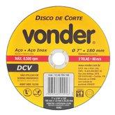 Disco de Corte Fino G 36 7 Pol. - VONDER-1240700160