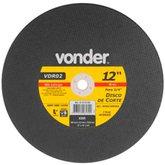 Disco de Corte 300mm x 3/4 Pol. 5015rpm para Aço e Materiais Ferrosos - VONDER-1215121834