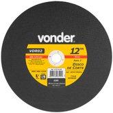 Disco de Corte 300mm 5015rpm para Aço e Materiais Ferrosos - VONDER-1215121810