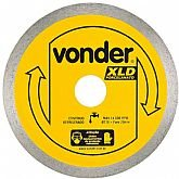 Disco de Corte Diamantado 110mm Contínuo para Porcelanato - VONDER-1268800000