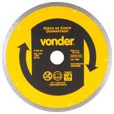 Disco de Corte Diamantado 200mm Contínuo para Porcelanato - VONDER-1268800200