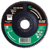 Disco Flap Reto de Zircônio de 115mm Grão 40  - CARBOGRAFITE-010576310