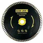 Disco Diamantado de Corte Turbo de 230mm - BLACK JACK-J580
