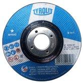 Disco de Desbaste 115 x 6 x 22,23mm Basic - TYROLIT-222858