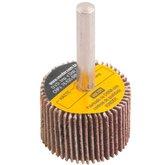 Roda de Lixa 30 x 20mm com Haste Grão 36 - VONDER-1271302036