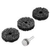 Jogo de Esponjas Abrasivas com Haste para Polimento Médio 50mm com 4 Peças - VONDER-1250004001
